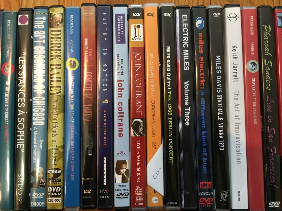 Free Jazz DVDs 1